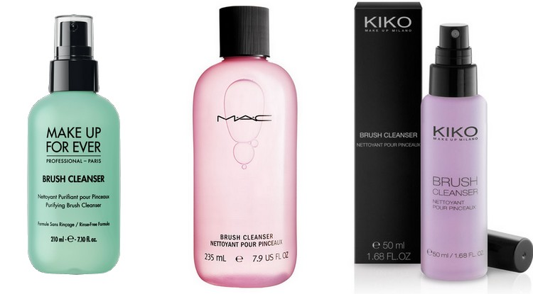 Brush cleanser KIKO, MAC, MUFE